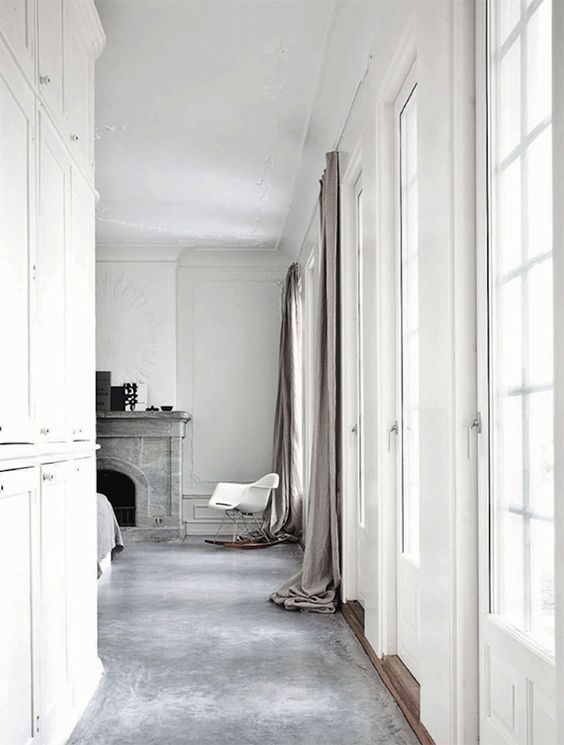 Length of the curtains Living inspiration