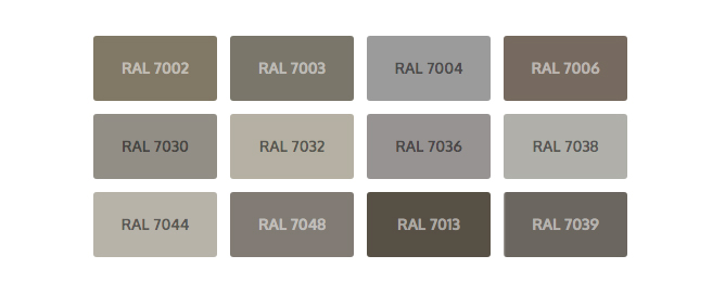 Taupe interior Color inspiration